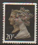 Great Britain England SG 1469 Used perf 15 x 14 Harrison top imperf