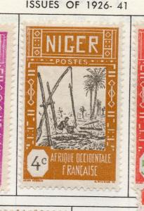 Niger 1926-41 Early Issue Fine Mint Hinged 4c. 193527