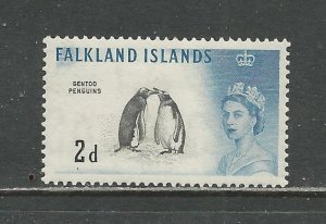 Falkland Islands Scott catalog # 130 Unused HR