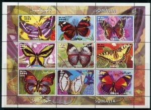 Somalia MNH S/S Butterflies 2000