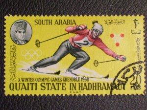 Aden - Hadhramaut Michel #126 used