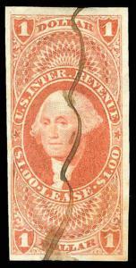U.S. REV. FIRST ISSUE R70a  Used (ID # 83398)
