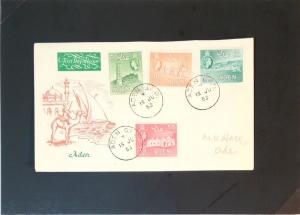 Aden 1953 Series First Day Cover - Z2930