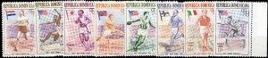 REPUBLICA DOMINICANA 1957 J.O. Melbourne Olympics (I) set Mi.560A/7A Neuf/Mint**