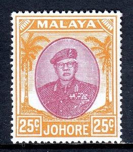 Malaya (Johore) - Scott #143 - MH - SCV $3.50