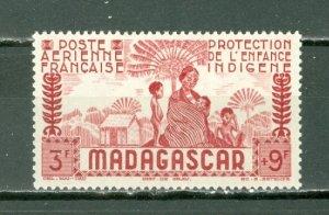 MADAGASCAR 142 AIR SEMI-POSTAL #CB4 MINT LIGHT H