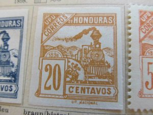 Honduras 1898 20c fine mng stamp A11P12F37
