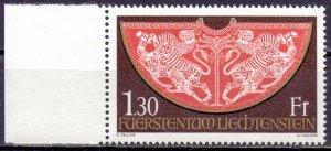 Liechtenstein. 1975. 634. attributes of power. MNH.