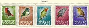 Togo C36-40 MNH cv $66.00 BIN $32.50
