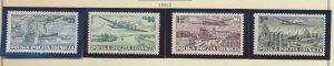 Poland Stamps Scott #C28 To C31, Used