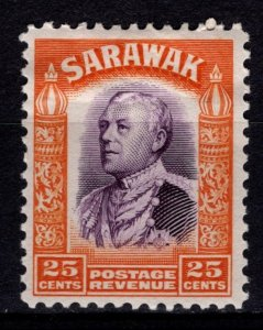 Sarawak 1934-41 Sir Charles Vyner Brooke Definitive, 25c [Unused]