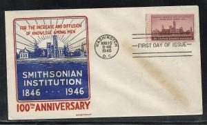 US #943-15 Smithsonian Smartcraft cachet addressed
