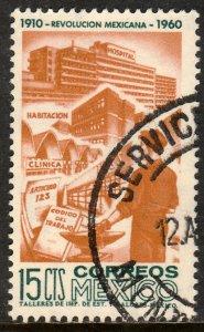 MEXICO 914, 15c 50th Anniv Mexican Revolution. Used. F-VF. (513)
