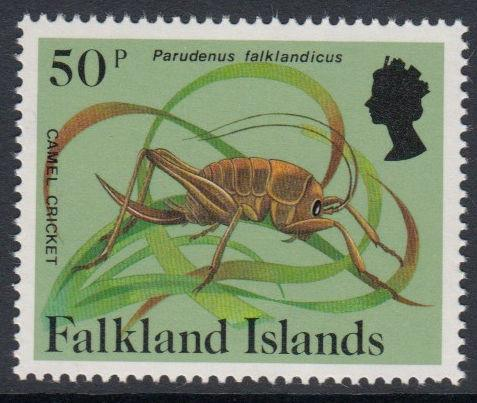Falkland Islands - 1984 Insects and Spiders (50p) (MNH)