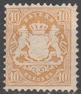 Bavaria #28a  F-VF Used CV $240.00  (A13055)