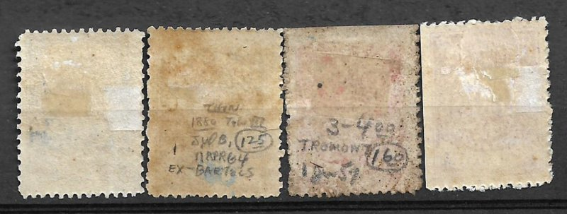 COLLECTION LOT OF # 85 SAMOA 4 STAMPS MH 1877 2 SCAN HCV