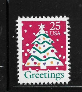 UNITED STATES, 2515, MNH, CHRISTMAS