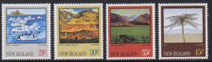 New Zealand MNH 528-31 Landscape Scenes 1973