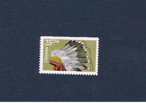 #2502 MVFNH OG Indian Headdress Free S/H