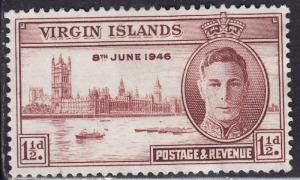 British Virgin Islands 88 (Common Design 303) 1946