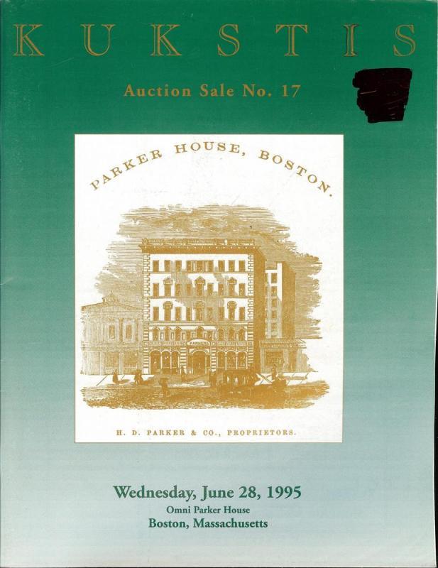 Kukstis Auctions, Inc., Sale Number 17, Kukstis 17