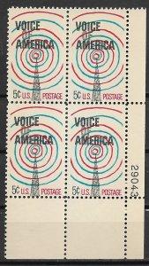 1967 #1329 Voice of America PB4 MNH
