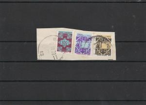Turkey Stamps on Piece ref 21896