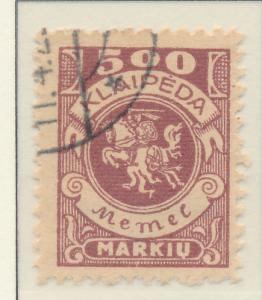 Memel Stamp Scott #N26, Used - Free U.S. Shipping, Free Worldwide Shipping Ov...