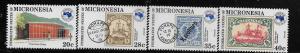 MICRONESIA, 21, C4-C6,  MNH , POST OFFICE