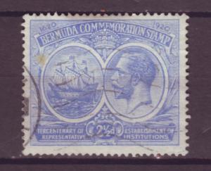 J15955 JLstamps 1920-1 bermuda used #68 king ship