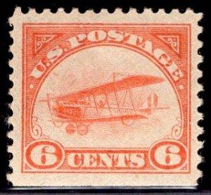 US Stamp #C1 6c Orange Jenny MINT NH SCV $110