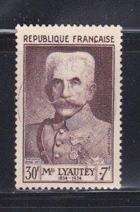 France B281 U Marshal Hubert Lyauley