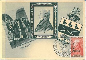 38748   - Algeria - POSTAL HISTORY - FDC   MAXIMUM CARD  Post LAVALLETE  1936