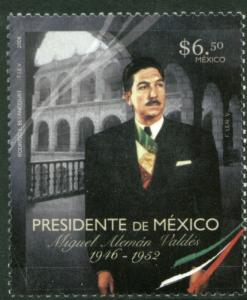 MEXICO 2574, MIGUEL ALEMAN (1900-1983), PRESIDENT OF MEXICO. MINT, NH. F-VF.