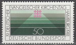 Germany #1351  MNH   (K718)