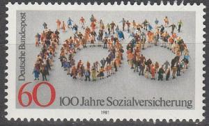 Germany #1365 MNH   (S6773)