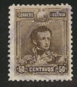 Bolivia Scott 67 Used