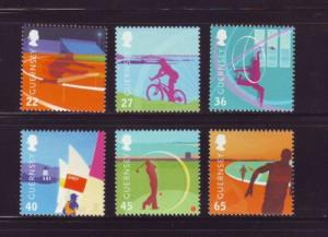 Guernsey Sc 795-0 2003 Island Games stamp set mint NH