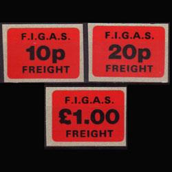 FALKLAND 1986 - Local Air Service Issue Set of 3 NH