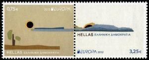 HERRICKSTAMP GREECE Sc.# 2537 Europa 2012 Stamp