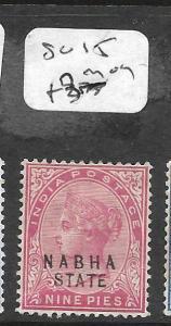 INDIA NABHA (P2309B) QV  9P   SG15  MOG