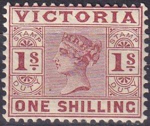 Victoria #176A  Unused CV $32.50 (Z9578)
