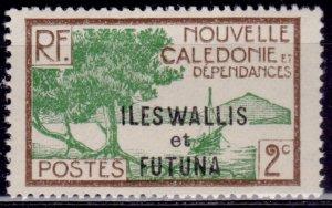 Wallis and Futuna, 1930-38, 2c, sc#44, MLH