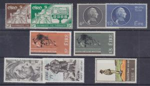 Ireland Sc 99/309 MLH. 1937-1971 issues, 5 cplt sets VF