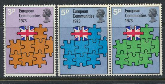 GB QE II Mint Never Hinged  SG 919 - 921 set with se-tenant pair SG 920a