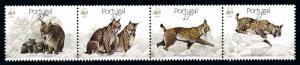 [66334] Portugal 1987 WWF Wild Animals Mammals Lynx  MNH