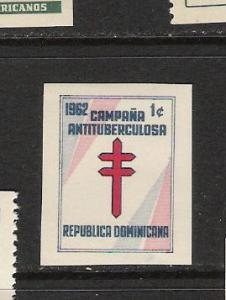 DOMINICAN REP. DOMINICANA RA33 MNH IMPERF. L628
