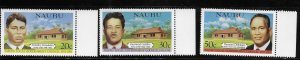 Nauru 1981 Legislative Council Sc 224-226 MNH A1813