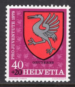 Switzerland B460 MNH VF
