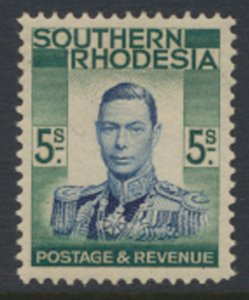 Southern Rhodesia  SG 52  SC# 54  Mint Very Light trace of Hinge   see scans